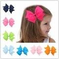 Swallowtail arcos Clips De Mariposa de Pelo Niños Headwear Barrettes Horquillas Lindas de Nylon para el Bebé Niñas Accesorios Para el Cabello Ornamento