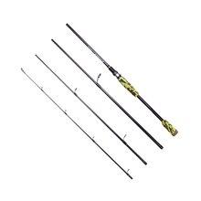 2.1M,2.4M Lure Rod 4 Section Carbon Spinning Rod Fishing Hard Travel Casting Fishing Pole Portable Ultra-light Sea Fishing Rod