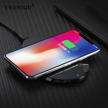 YWEWBJH Wireless Charger for iPhone X For 8 Plus 10W Charging Galaxy S9 MIX 2S Qi USB