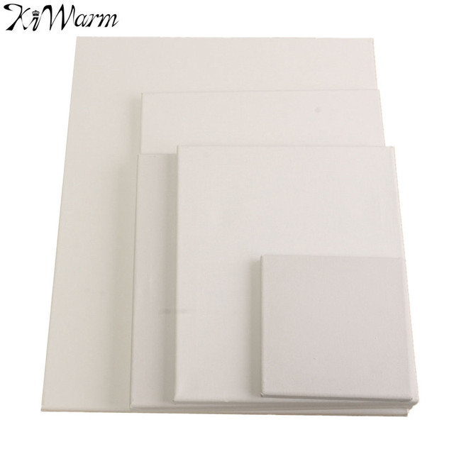 Kiwarm new blank canvas wooden board frame artist art for How paint on canvas