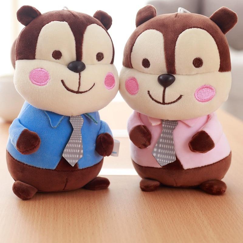 1 unid 12 Patrones Animal muñeca felpa de juguete de peluche - Peluches y felpa