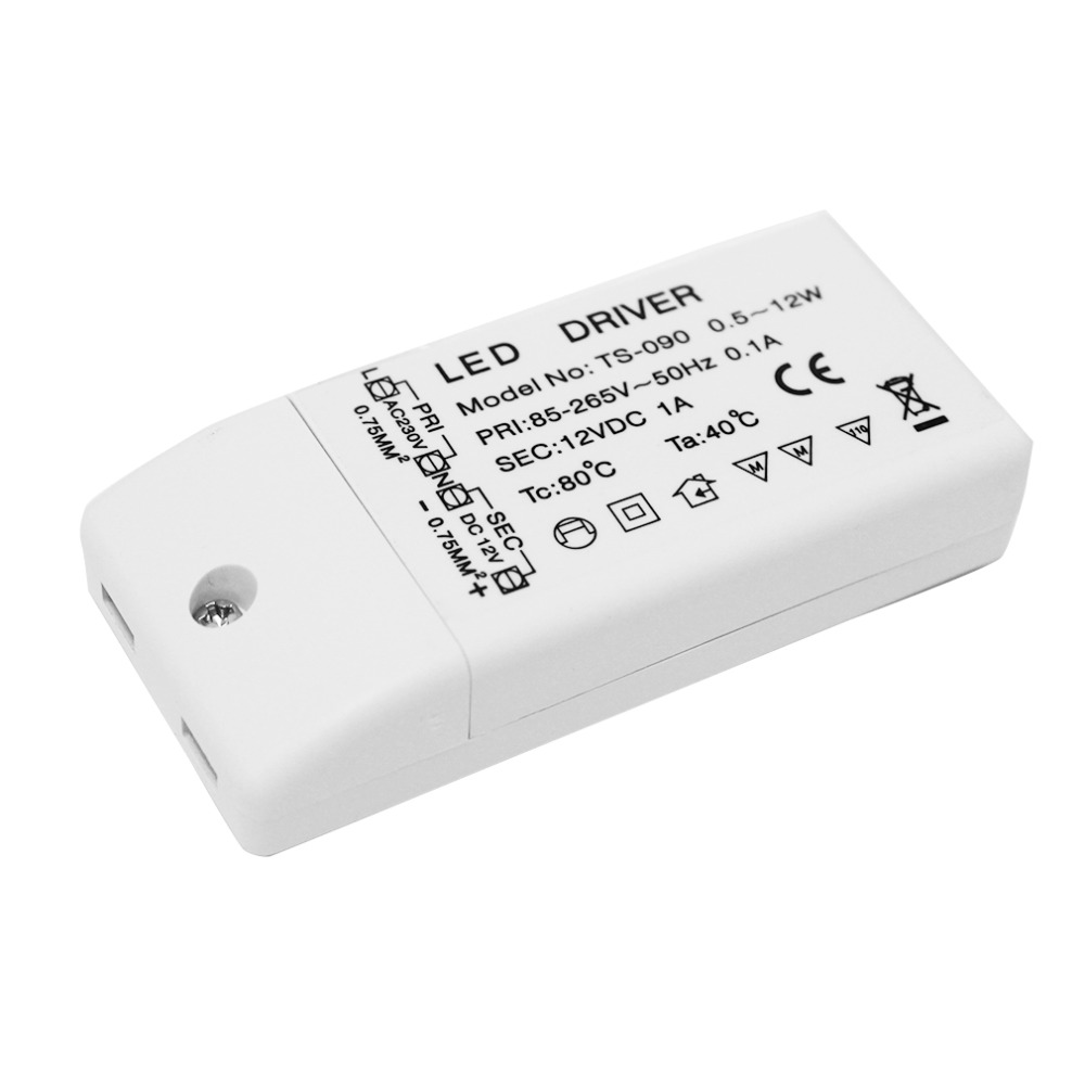 1 Pc Led Driver Power Supply Adapter Transformer 220v-240v For Mr16 / Mr11 12v Led Bulbs Led Strips 0.5w - 12w Brand New Hot
