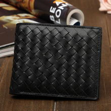 2015 New Arrival Men leather wallets Luxury first layer cowskin fashion designer male Black luxury purses 3P813B free shipping
