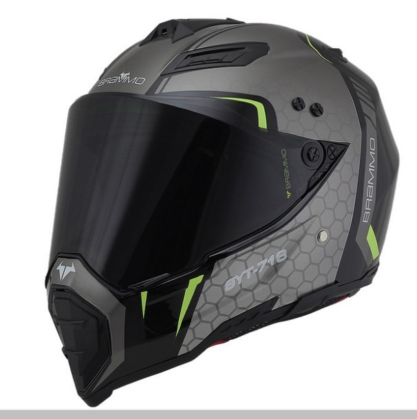 Cross-country motorcycle helmet Male rally helmet personality cool locomotive safety Helmet Road full helmet full-style Four Sea road trip usa eighth edition cross country adventures on america s two lane highways