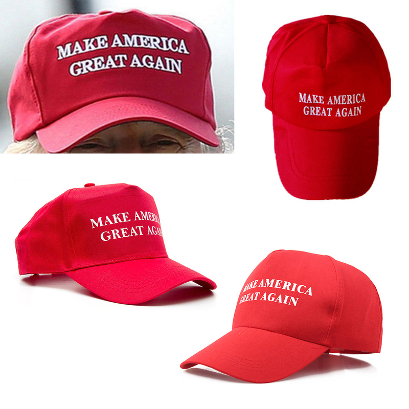 721c4b1aeb7 Make America Great Again Hat Donald Trump Cap GOP Republican Adjust tennis  Cap Patriots Hat Trump
