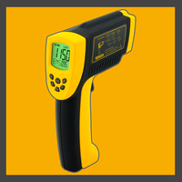 Non Contact Infrared Thermometer 50~1150C/ 58~2102F AR872D+ Digital Infrared Thermometer Gauge Industrial Handheld Pyrometer