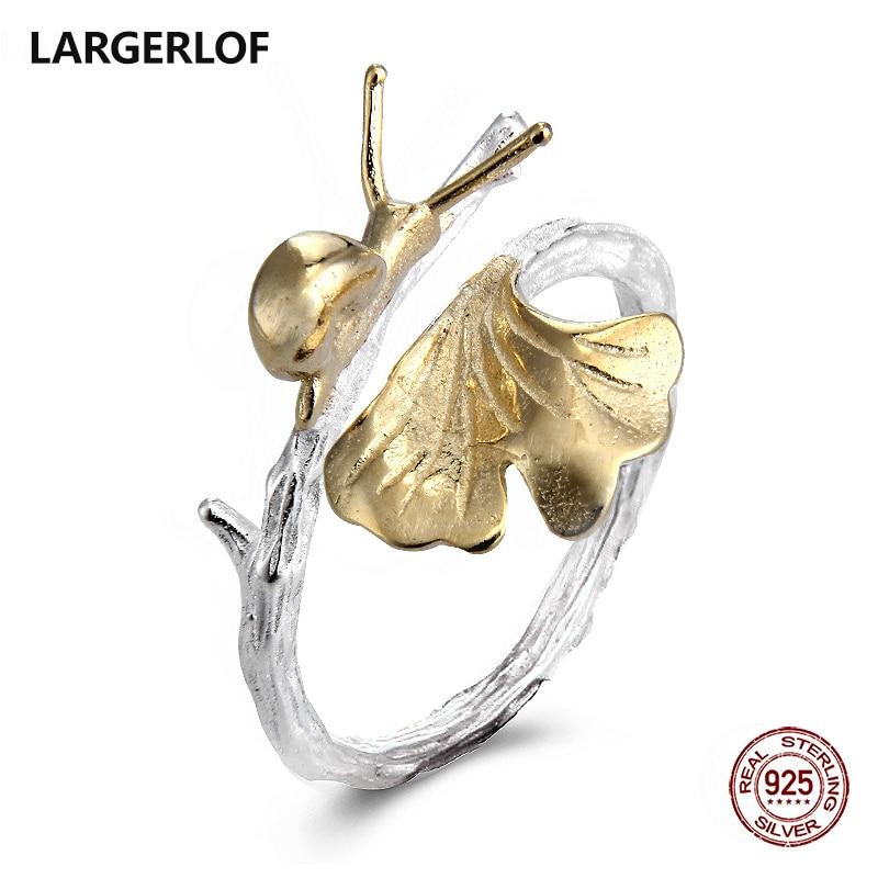 LARGERLOF 925 Sterling Silver Ring For Women Handmade Silver 925 Jewelry Silver 925 Ring RG49113 кольцо oem r111 925 925 amwajeda dymampta ring