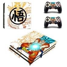 Anime Dragon Ball Super PS4 Pro Skin Sticker Vinyl Decal Sticker