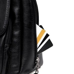 Image 5 - Women shoulder messenger bag sheepskin high quality casual shoulder bags solid zipper colors fashion handbag bag Bolsa Feminina