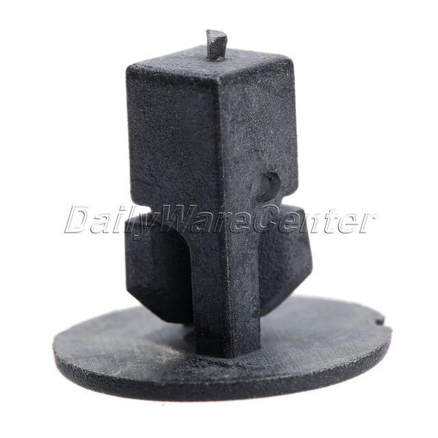 Pince de fixation de garde-boue de voiture | 50 pièces, agrafe de retenue de pare-choc, clips de fixation de garde-boue intérieure K57 Rivets 8.2x8.3mm, trou pour Toyota