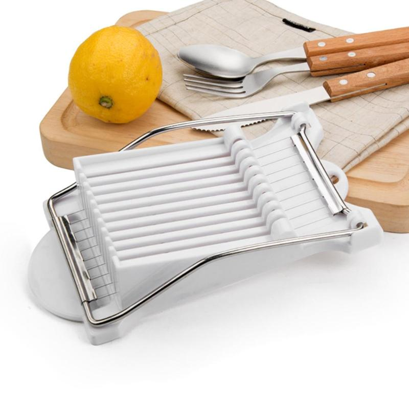 Kitchen Gadgets Stores: Stainless Steel Lunch Meat Slicer Banana Cutter