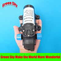 5.5l/min 80w dc 12v automatic pressure switch type with on/off button and socket diaphragm pump sprayer