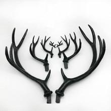 simulation 27 CM black deer antler/deer horn creative DIY material