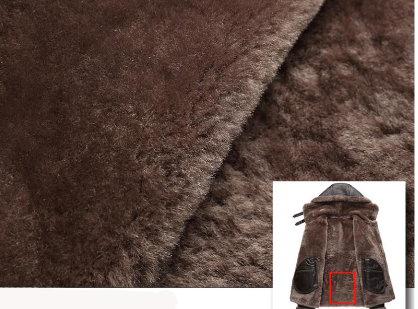 HTB1VPm9djfguuRjSszcq6zb7FXa3 AYUNSUE Genuine Leather Jacket Men Winter Australian Natural Fur Real Sheepskin Coat for Men Lamb Fur Flight Men's Jackets KJ853
