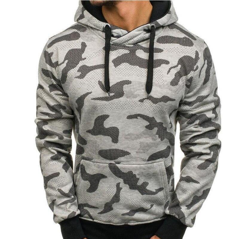 New camouflage men's hoodies big pocket hoodie fashion men casual hoodies long sleeve hooded