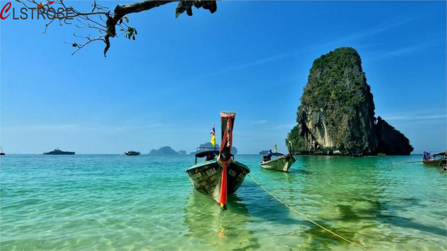 CLSTROSE New Arrival Direct Selling Rectangle Nature Landscape Beach Thailand 4 Sizes Home Decoration Canvas Poster Print
