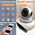 HD 720 P de Infrarrojos TF Tarjeta de memoria inalámbrica Cámara ip Wifi PT P2P CCTV IR-CUT de Seguridad Nocturna de la Vigilancia de Voz grabadora