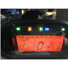 Motorcycle Adjustable Tachometer Speedometer LCD Digital Odometer With Sensor Universal For All Motorcycle TYB011