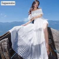 Disappearancelove Women long Dress hot sale 2019 Spring Summer Russian Style Dresses Long Floor Length Elegant vestidos