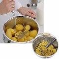 Purê de Batatas Espremedor De Batatas Em Aço inoxidável Molde dispositivo Espremedor de Frutas Purê de Batatas Espremedor de Batata Doce Quente 99