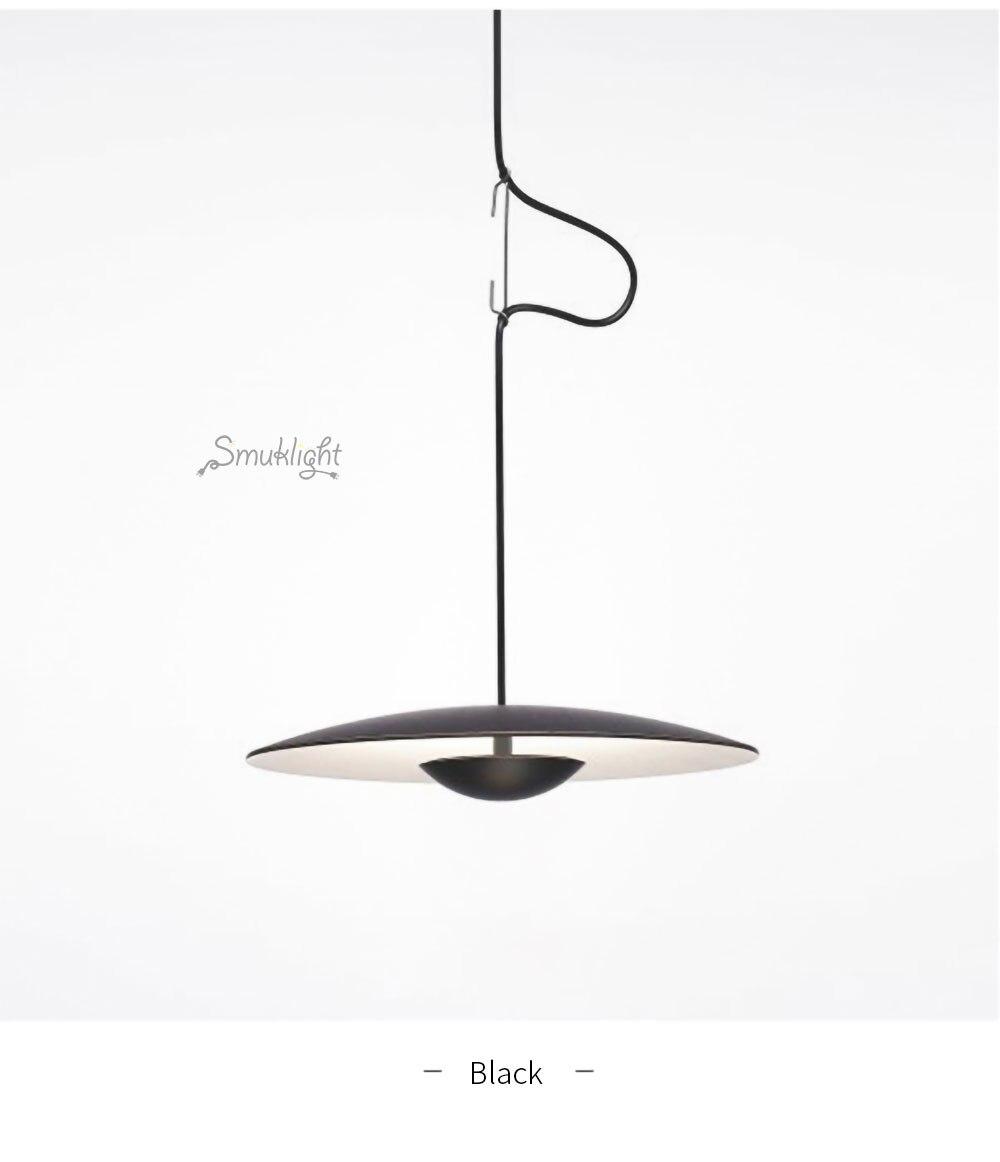 美式简约北欧现代艺术风格意大利设计师客厅餐厅床头吧台卧室吊灯_09