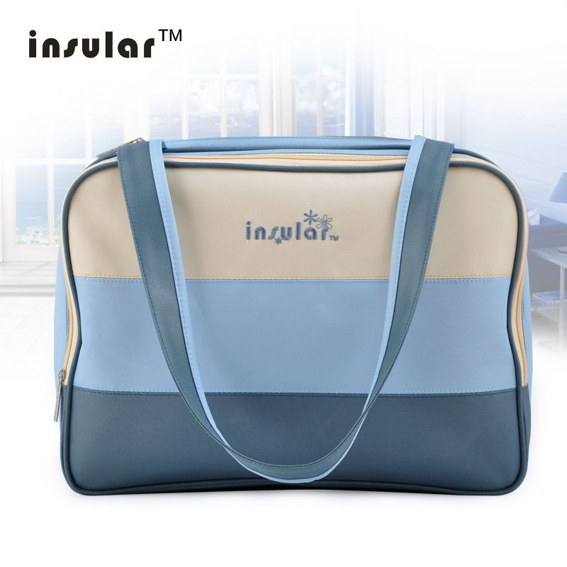 Free Shipping Hot Sale Fashion Unique Colorful Diaper Bag Stylish Fresh Mami Bag Waterproof Nylon Mommy