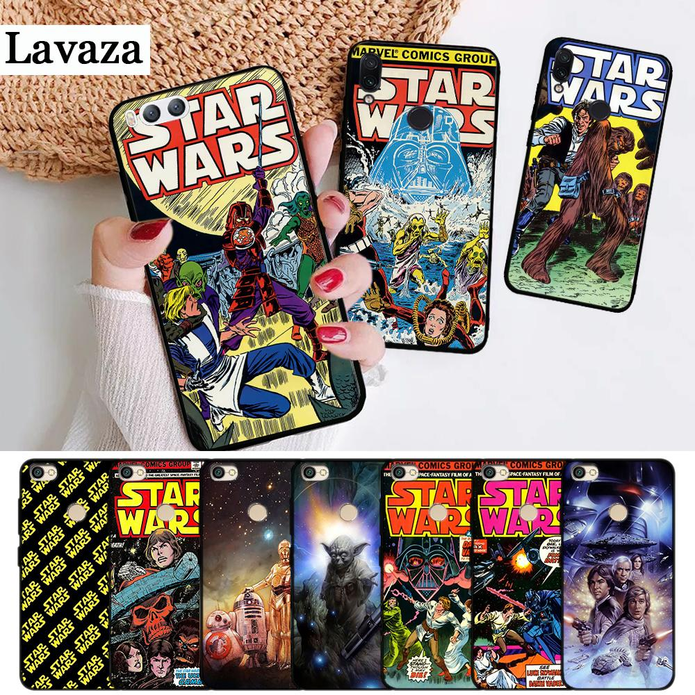 Lavaza Star Wars Movie Comic Guys Holding Silicone Case for Xiaomi Redmi 4A 4X 5A 5 Plus S2 6 6A 7A K20 Note 4 7 Pro Prime Go image