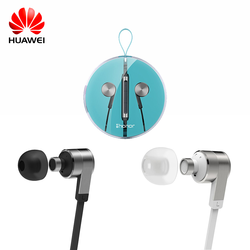Huawei Wire Sport Headsets In Ear Earphone with Earbuds Super Bass Headset for Mobile Ph ...