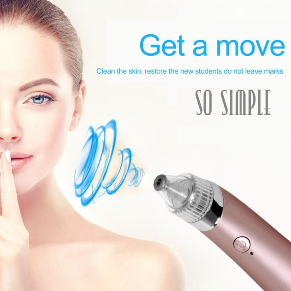 Portable Electric Blackhead Remover JB-8620 Facial Pore Cleanser EU Plug Vacuum Cleaning Instrument Face Care Skin Care