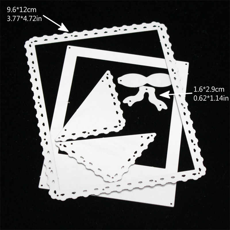 KSCRAFT Photo Frames Metal Cutting Dies Stencils for DIY Scrapbooking Stamp/photo album Decorative Embossing DIY Paper Cards