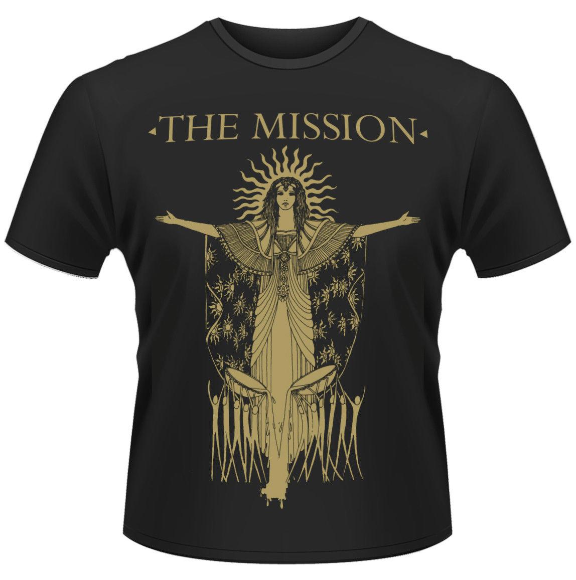 THE MISSION GODS OWN MEDICINE T-SHIRT - NUOVO E ORIGINALE