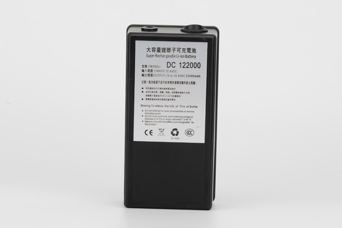 MasterFire High Quality DC 122000 Super Rechargeable Portable DC 12V 20000mAh Battery Lithium ion Batteries With US EU UK Plug in Rechargeable Batteries from Consumer Electronics