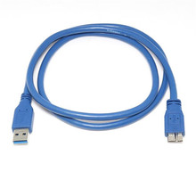 Top Quality USB 3.0 Type A Male to Micro B Male Extension Cable Cord Adapter Super Speed Data Transfer Rate Dec24