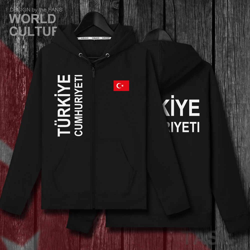 Turkey TUR Turkish Turk TR mens zipper fleeces hoodies