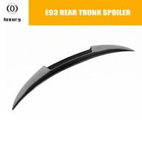 E93 Carbon Fiber Rear Trunk Lid Boot Lip Wing Spoiler for BMW E93 Convertible 320 325 328 330 335 2005 - 2013