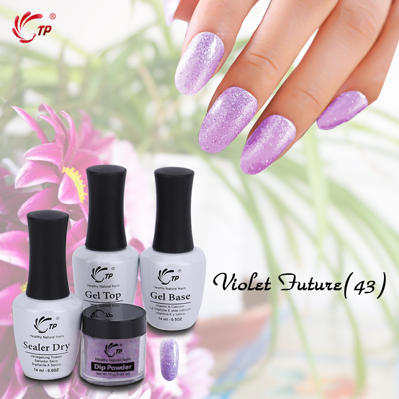 цена на TP 10g Dipping Powder Kit Gel Top Sealer 14ml No Lamp Cure Dip Powder System Bling Nails art Factory Price With High Quality diy