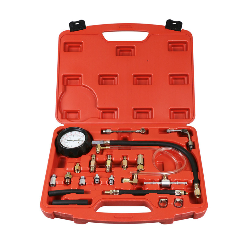 0-140 PSI Fuel Injection Pump Injector Tester Pressure Gauge Gasoline