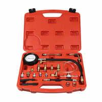 0-140 PSI pompe d'injection de carburant injecteur testeur manomètre essence