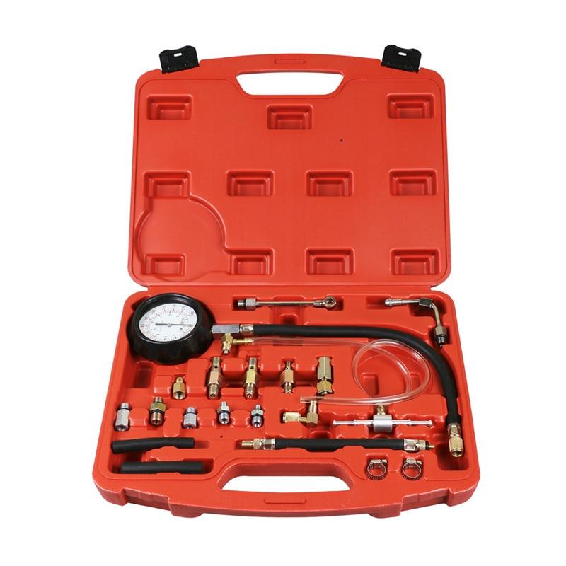 Hot 140 PSI Fuel Injection Pump Pressure Injector Tester Test Pressure Gauge Kit