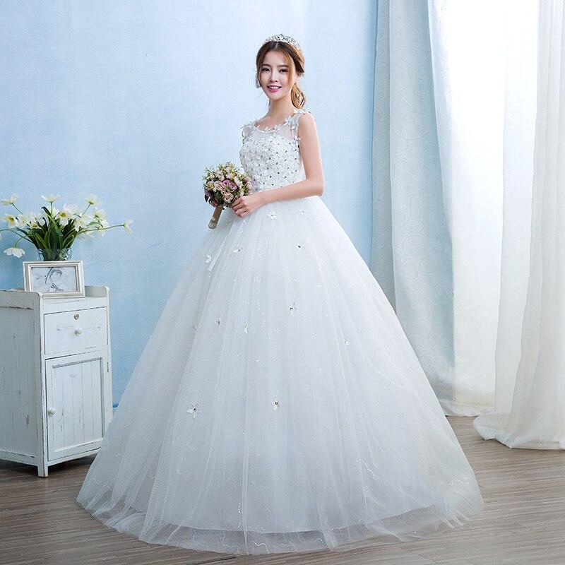 Real Photo Fashion Simple Pregnant women Vestido De Noiva Wedding ...
