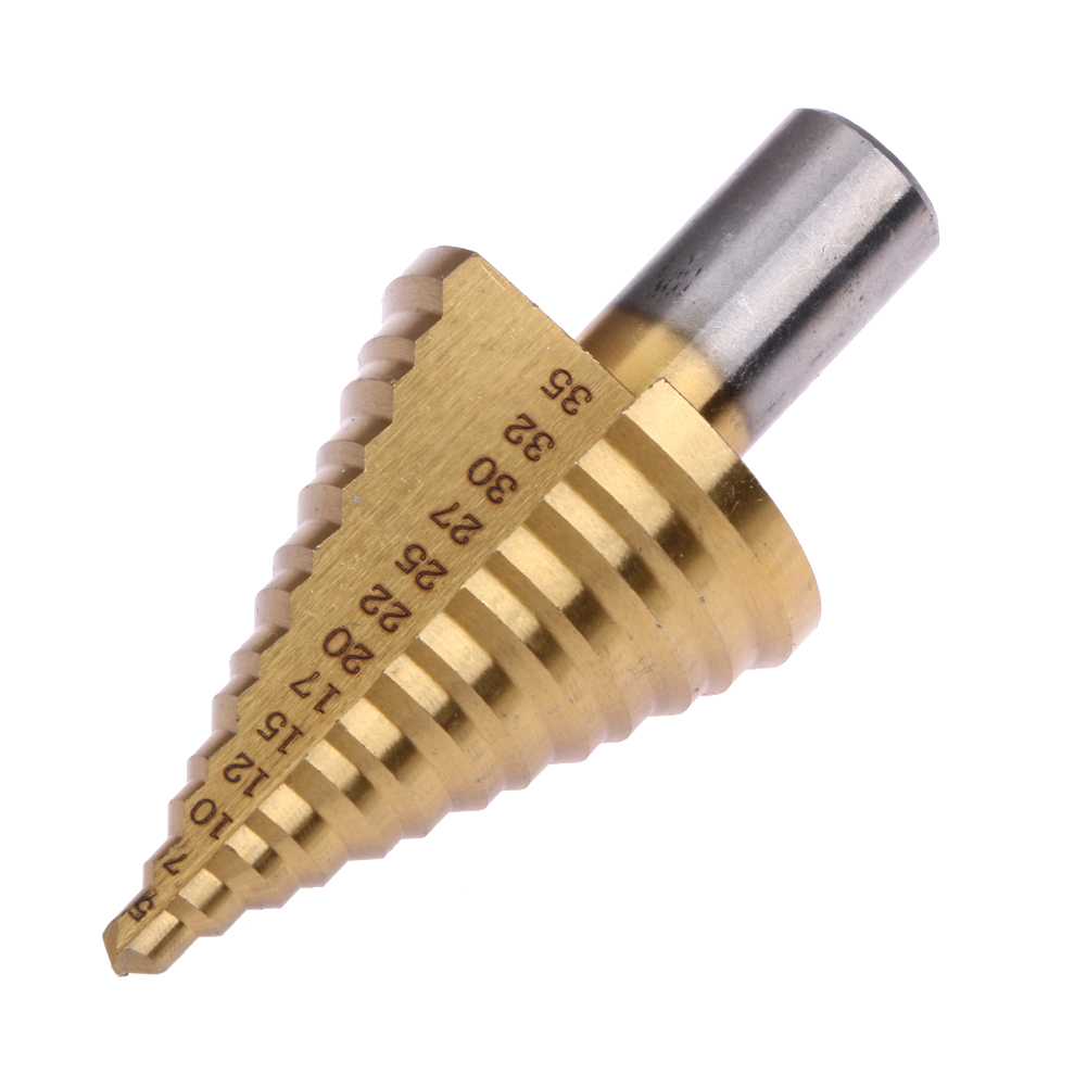 5-35mm Velocità In Acciaio Passo Punta del trapano Condotto Installazione HSS 6542/M2 Industriale Alesatore Foratura Punte per Legno metallo