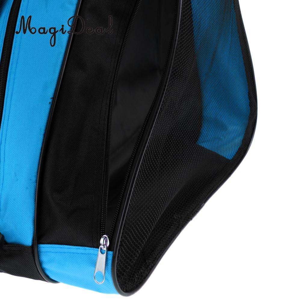 MagiDeal Inline Roller Skating Boots Shoes Bag Ice Hockey Skate Shoulder /Hand