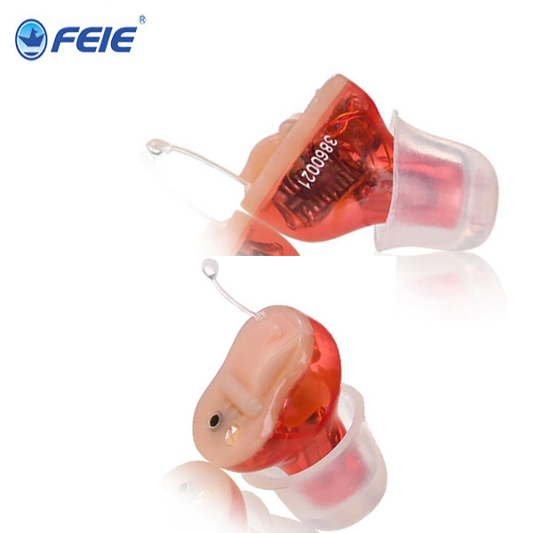 Feie Mini Digital ITE Hearing aid S-13A , In The Ear Invisible Hearing aids for Hearing loss people feie mini hearing aid invisible hearing 4 channels digital ready to wear hearing aids cic free shipping s 12a
