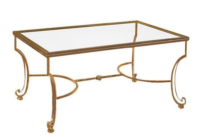 Tremendous Artistic Personality Wrought Iron Tempered Glass Tea Table The Sitting Room Tea Table Rectangular Coffee Table In Coffee Tables From Furniture On Inzonedesignstudio Interior Chair Design Inzonedesignstudiocom