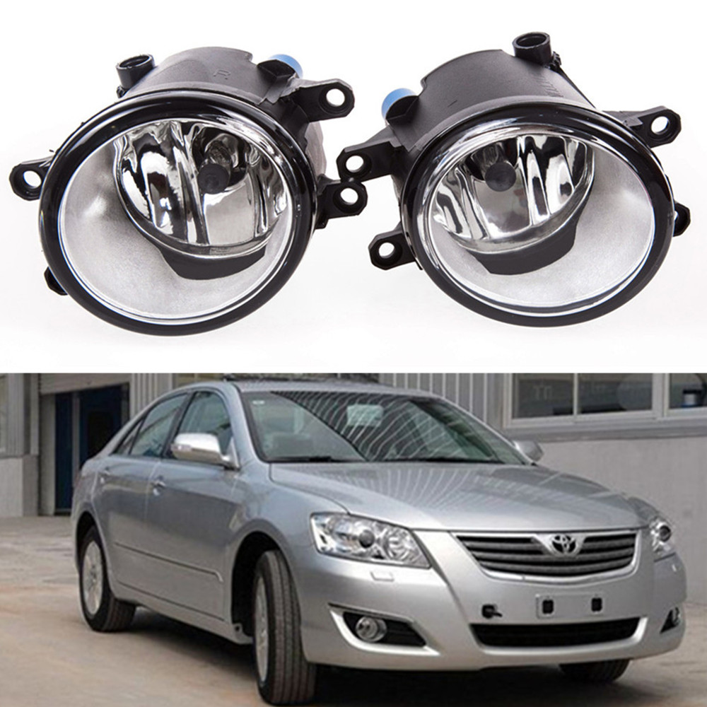 for car styling Front bumper Fog lights For TOYOTA CAMRY Saloon XV4 2006-2011  fog lamps ( esquerda + direita ) Halogen 1pair oem front fog lights bumper spot lamps without bulbs for toyota camry 2002 2004
