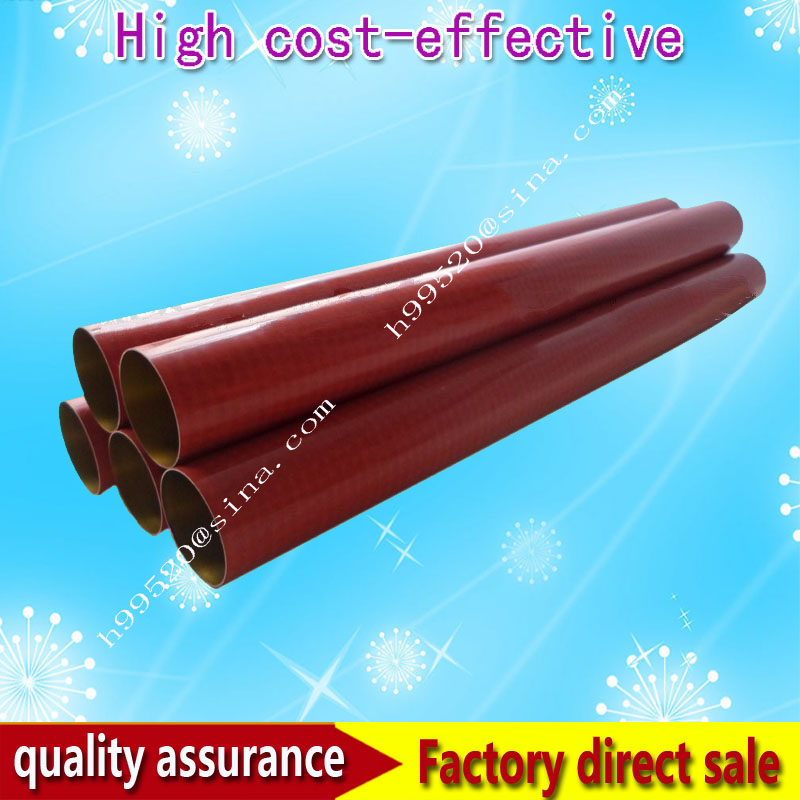 Original new fuser film sleeve FOR HP Laser jet 5500 5550 RG5-6701-film white lace details off shoulder bell sleeves crop top