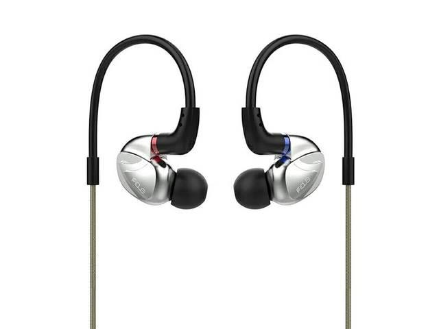 FIDUE VIRGO A85 2 Balanced Armature+Dyanmic Driver 2BA+1DD Hybrid Audiophile MMCX In-ear Monitor DJ Hifi Music Metal Earphones 3