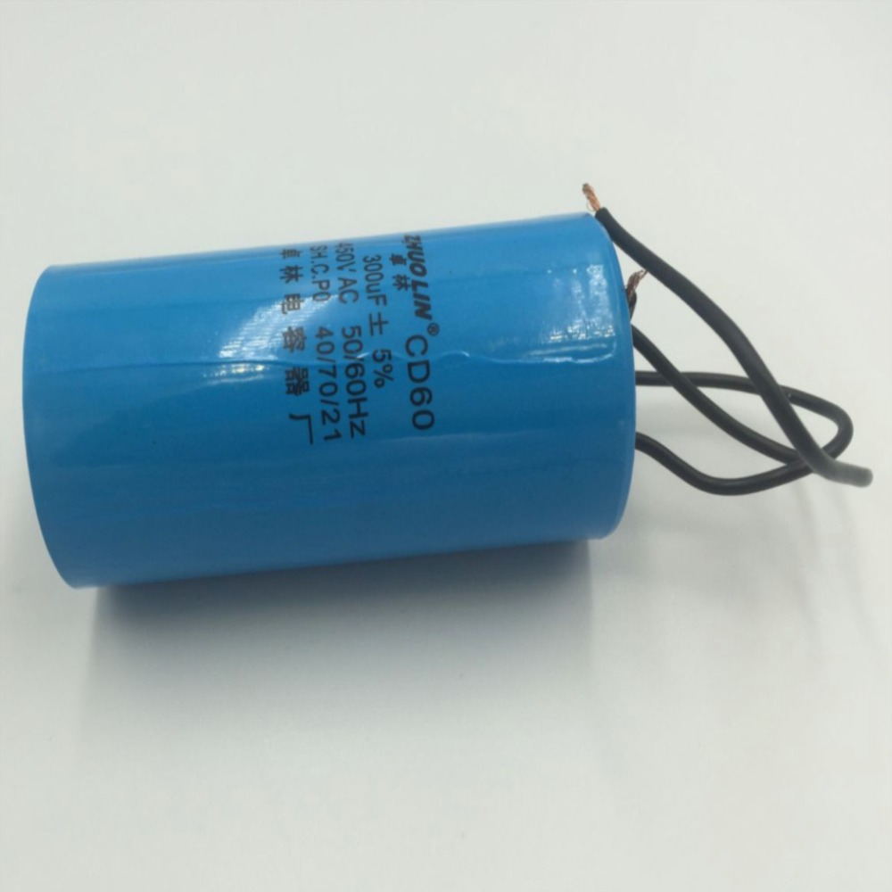 À 300 Courant Alternatif Cd60 De Démarrage 450vac Condensateur Uf Moteur 4Aj5RL