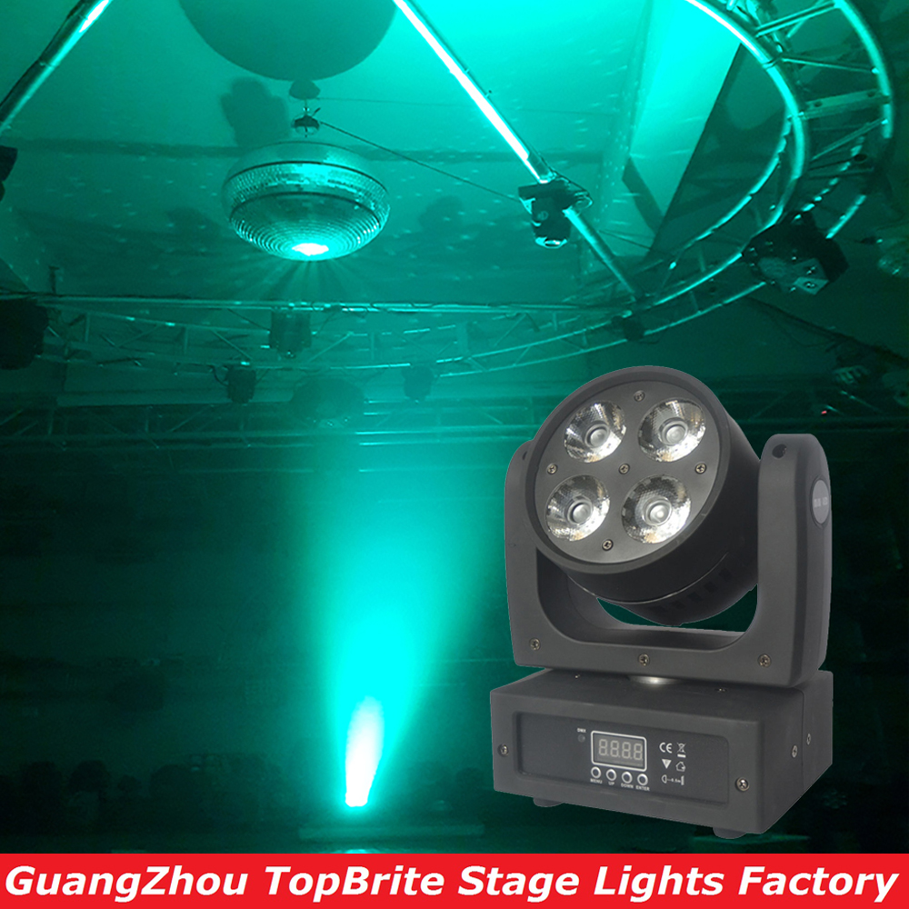 2016 High Quality New Super Beam 4x20W RGBW 4IN1 CREE LEDs LED Beam Wash Moving Head Light For Christmas Laser Light Projector p80 panasonic super high cost complete air cutter torches torch head body straigh machine arc starting 12foot