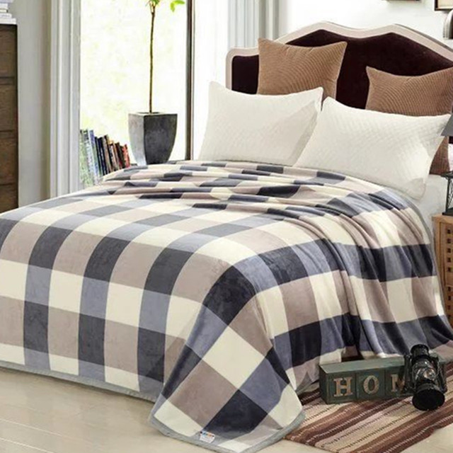 1 Piece High Quality Flannel Bedding Sheet Thick Warm Blankets Comfortable  Beautiful Flat Bed Sheets